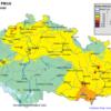 Pole denních koncentrací PM10, ČR, 2. 11. 2014, zdroj: ČHMÚ