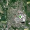 Obr. 2 Podrobná fotomapa MB a jejího okolí s přesnou lokalizací měření projektu CENATOX, Jan Bendl pro projekt GAČR P503/12/G147, 2013