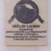 Označení rodného domu Václava Laurina
