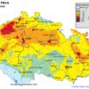 Pole denních koncentrací PM10 v ČR, 10.3.2014