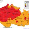 Pole denních koncentrací PM10 v ČR, 7.3.2014