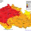 Pole denních koncentrací PM10 v ČR, 9.3.2014