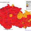 Pole maximálních osmihodinových koncentrací 03 v ČR- 20.7.2014- zdroj: ČHMÚ