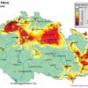 ČR-pole denních koncentrací PM10- 8.12.2012