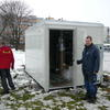 Výměna monitorovací stanice kvality ovzduší na Severním sídlišti 1