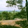 Úleva - skalní výhled k západu.