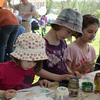 Malování děti velmi bavilo