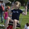 Pohoda vládla i na dětském hřišti
