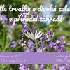 Jedlé trvalky a divoká zelenina v přírodní zahradě