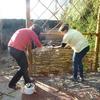 vyplejtání plotu