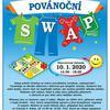 Povánoční SWAP v Ekocentru - oblečení, hračky, deskové hry, knihy