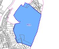 Přesné vymezení plochy dotčené související změnou ÚP SÚ MB (P11-Láskov), Zpracovatel Haskoning DHV pro Statutární město MB, červenec 2013