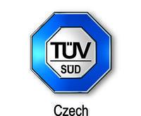 Logo společnosti TÜV SÜD Czech s. r. o. , zdroj: www.tuv-sud.cz