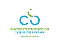 Logo národní strategie podpory cyklistické dopravy