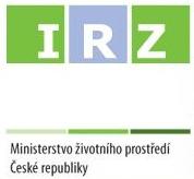 Logo Integrovaného registru znečišťování MŽP ČR