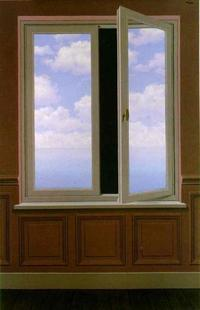 René Magritte- Dalekohled