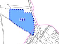 Přesné vymezení plochy dotčené související změnou ÚP SÚ MB  (P15-Akademie), Zpracovatel Haskoning DHV pro Statutární město MB, červenec 2013