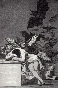 Francisco Goya- Spánek rozumu plodí příšery