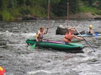 Paraplíčko - cvičná slalomová trať