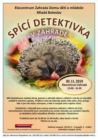 Pozvánka do EC Zahrada na listopad a prosinec